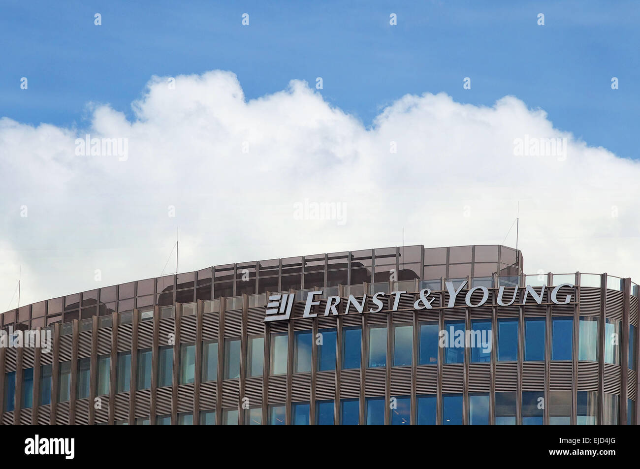 Ernst & Young Branch Berlin Germany - Stock Image