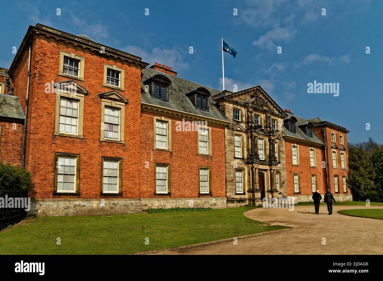 Dunham Massey Hall, Altrincham, Cheshire - Stock Image