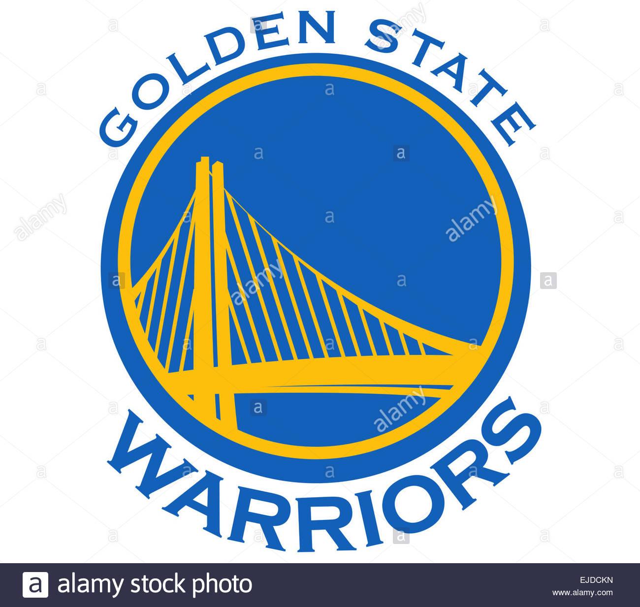 Golden State Warriors Logo Icon Symbol Stock Photo