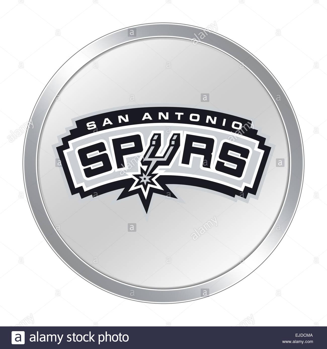 San Antonio Spurs Logo Icon Button