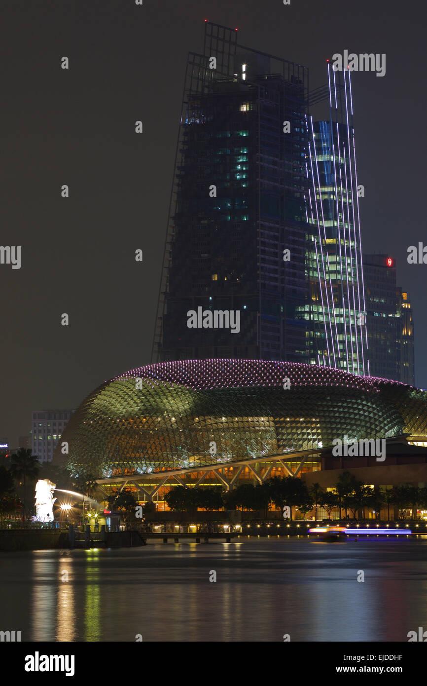 b1e0c7e9028 Marina Bay Skyline After Dark