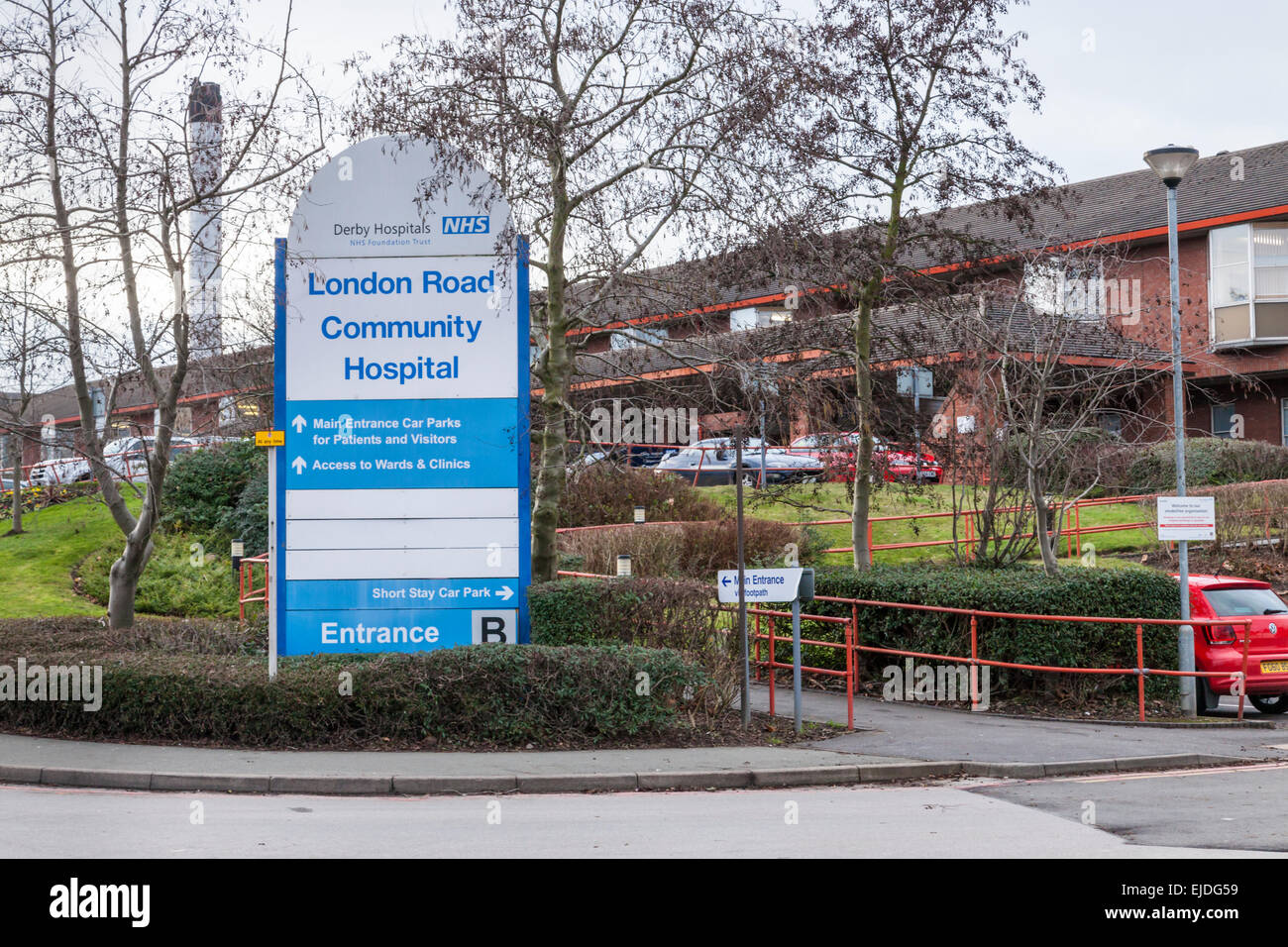 London Road Community Hospital, Derby, England, UK - Stock Image