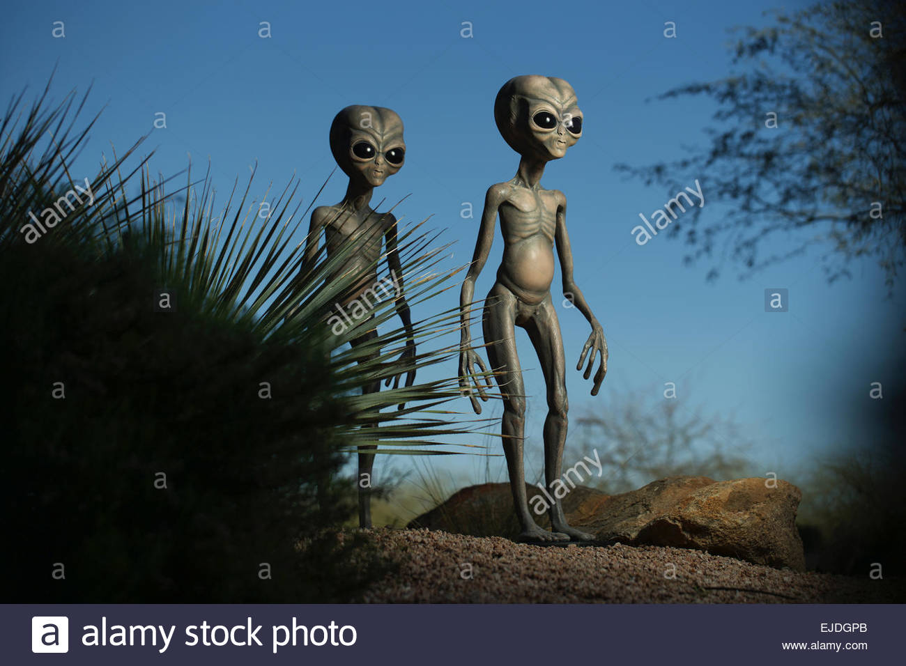The International UFO Congress Convention and Film Festival held in Scottsdale, Arizona - Stock Image