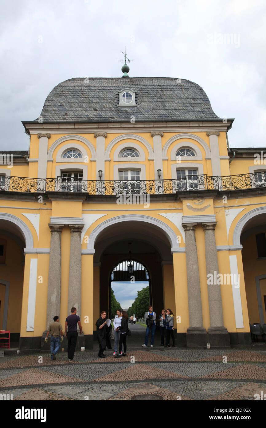 Bonn, Poppelsdorf Castle,  Northrhine Westphalia, Germany, Europe - Stock Image