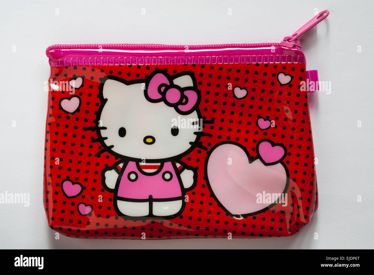 9d51920c377e1 Hello Kitty purse bag isolated on white background - purse for children  child girls - Stock