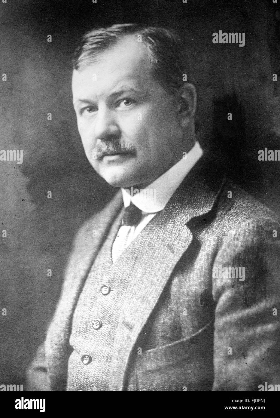 Franz Lehár, Austro-Hungarian composer. - Stock Image