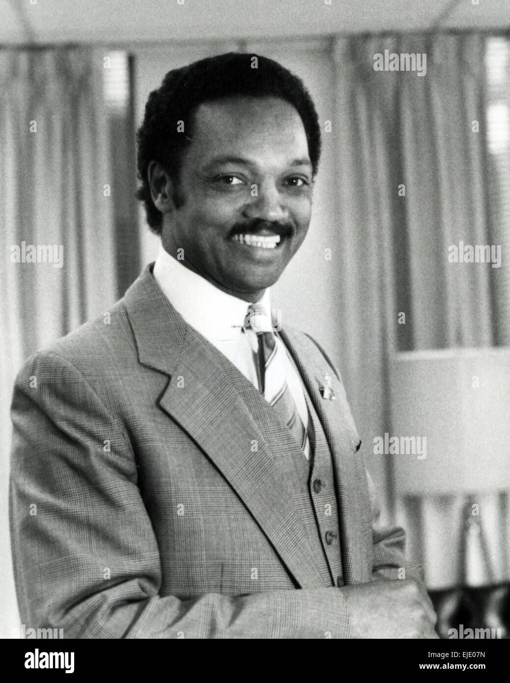 JESSE JACKSON US civil rights activist in 1984 - Stock Image