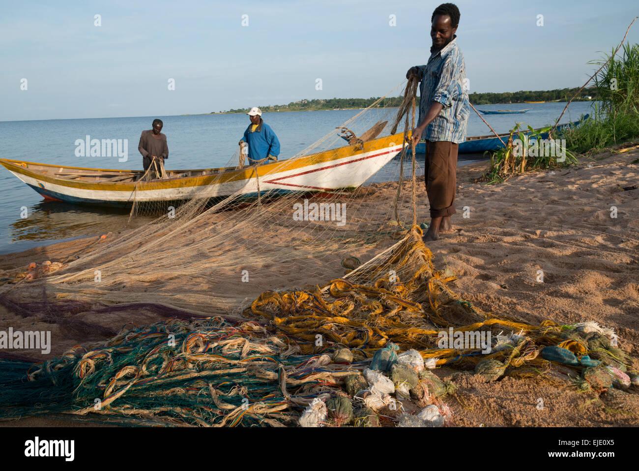 Ukara island. Lake Victoria. Tanzania. - Stock Image