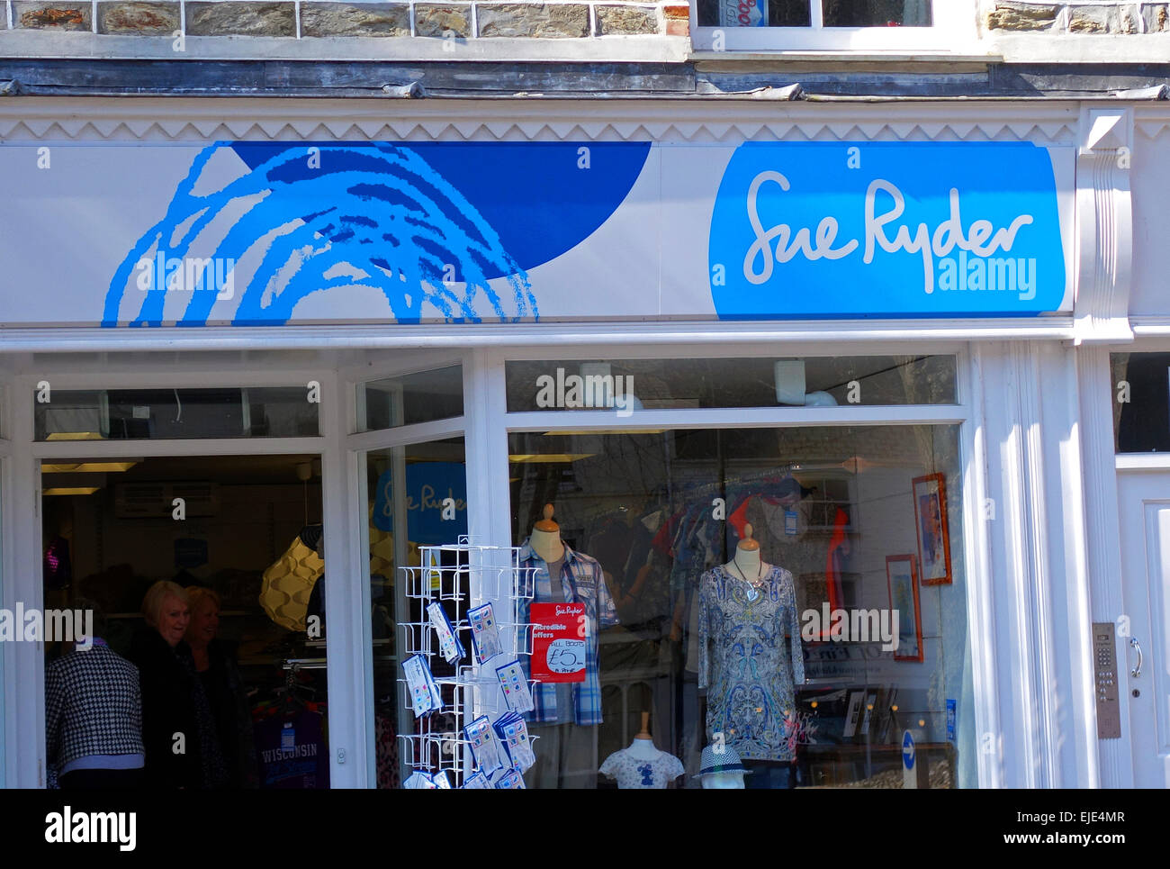 Sue Ryder charity shop - Stock Image