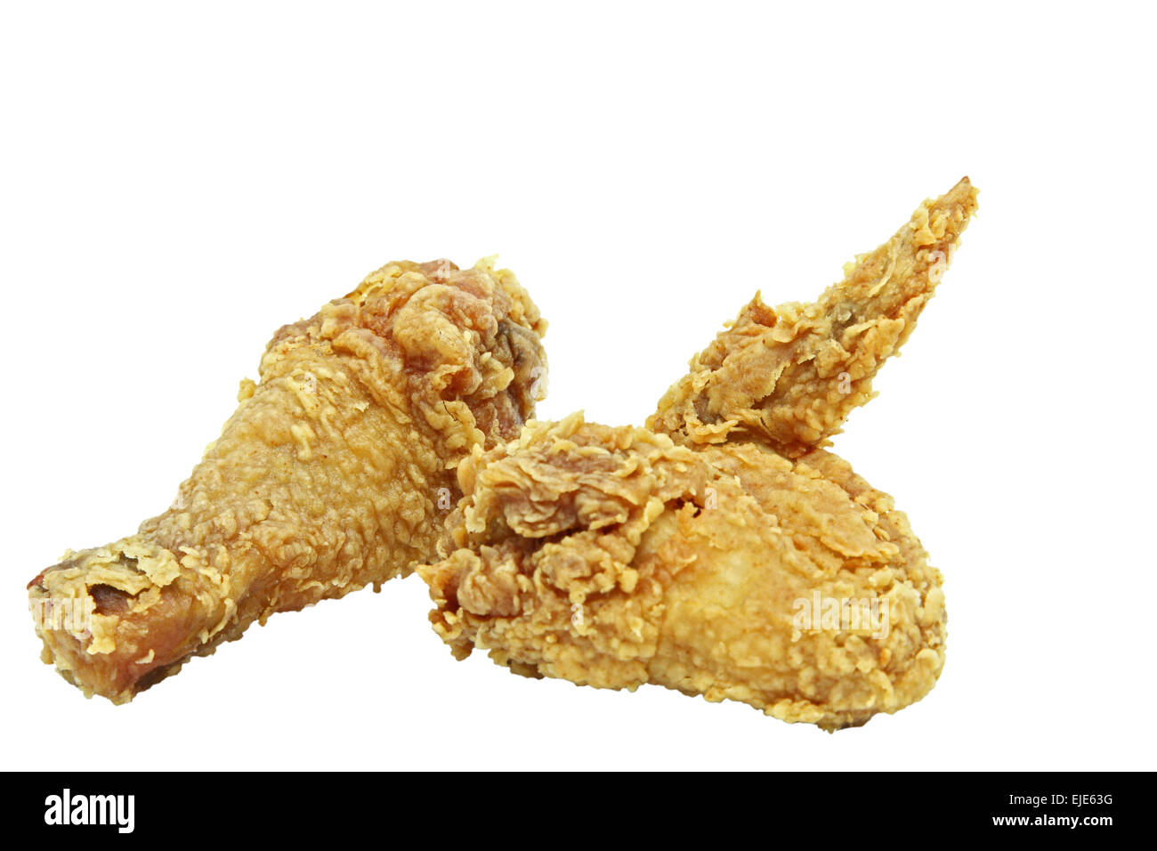 Drumstick Cut Out Stock Images Pictures Alamy Chicken Wings Wing Diagram Crispy And Spicy Fried Image