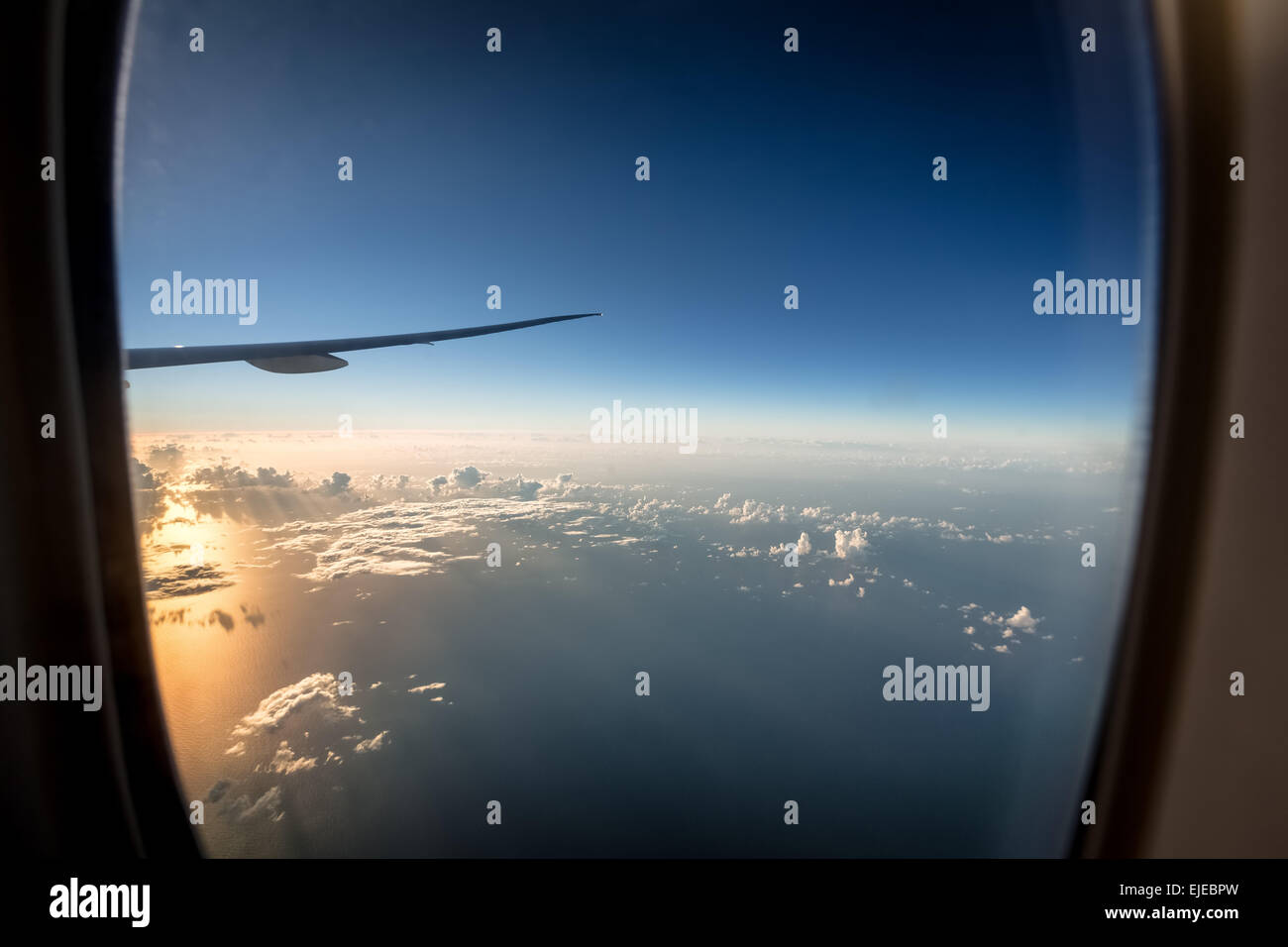 Sunrise over the North Atlantic Ocean - Stock Image