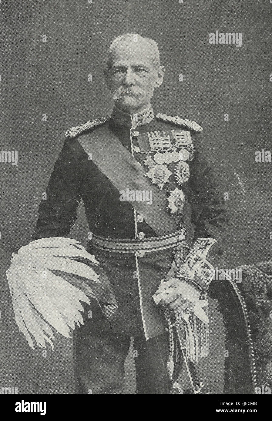 Field Marshall Lord Roberts at the time of the Second Boer War, circa 1899 - Stock Image