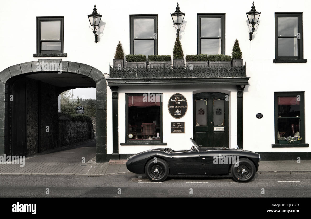 Bushmills Inn in Bushmills Northern Ireland - Stock Image