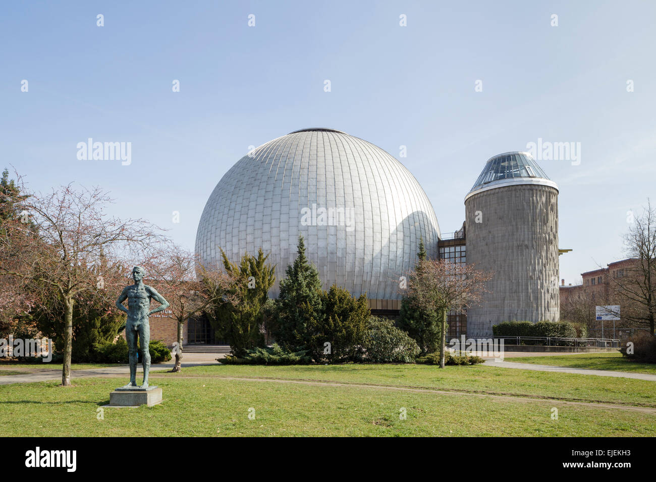 Zeiss Major Planetarium, Prenzlauer Berg, Berlin, Germany - Stock Image