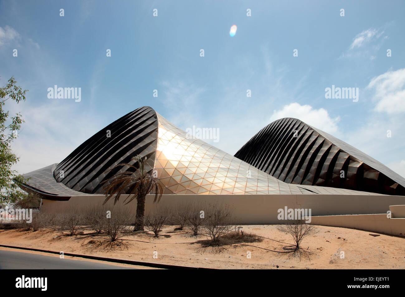 The UAE Pavilion designed by Foster and Partners on Saadiyat Island. - Stock Image