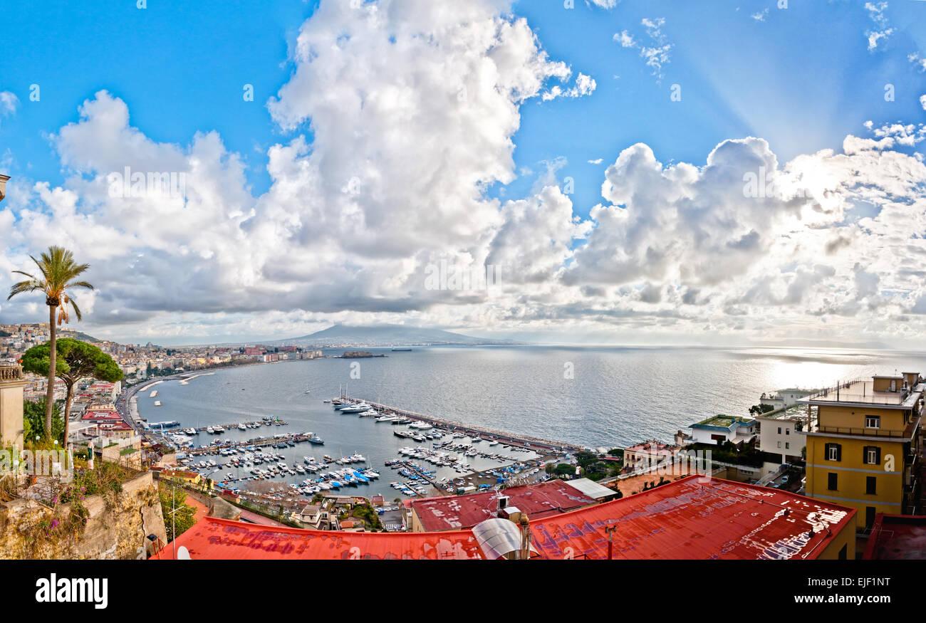 Posillipo Naples Napoli Stock Photos & Posillipo Naples Napoli Stock ...