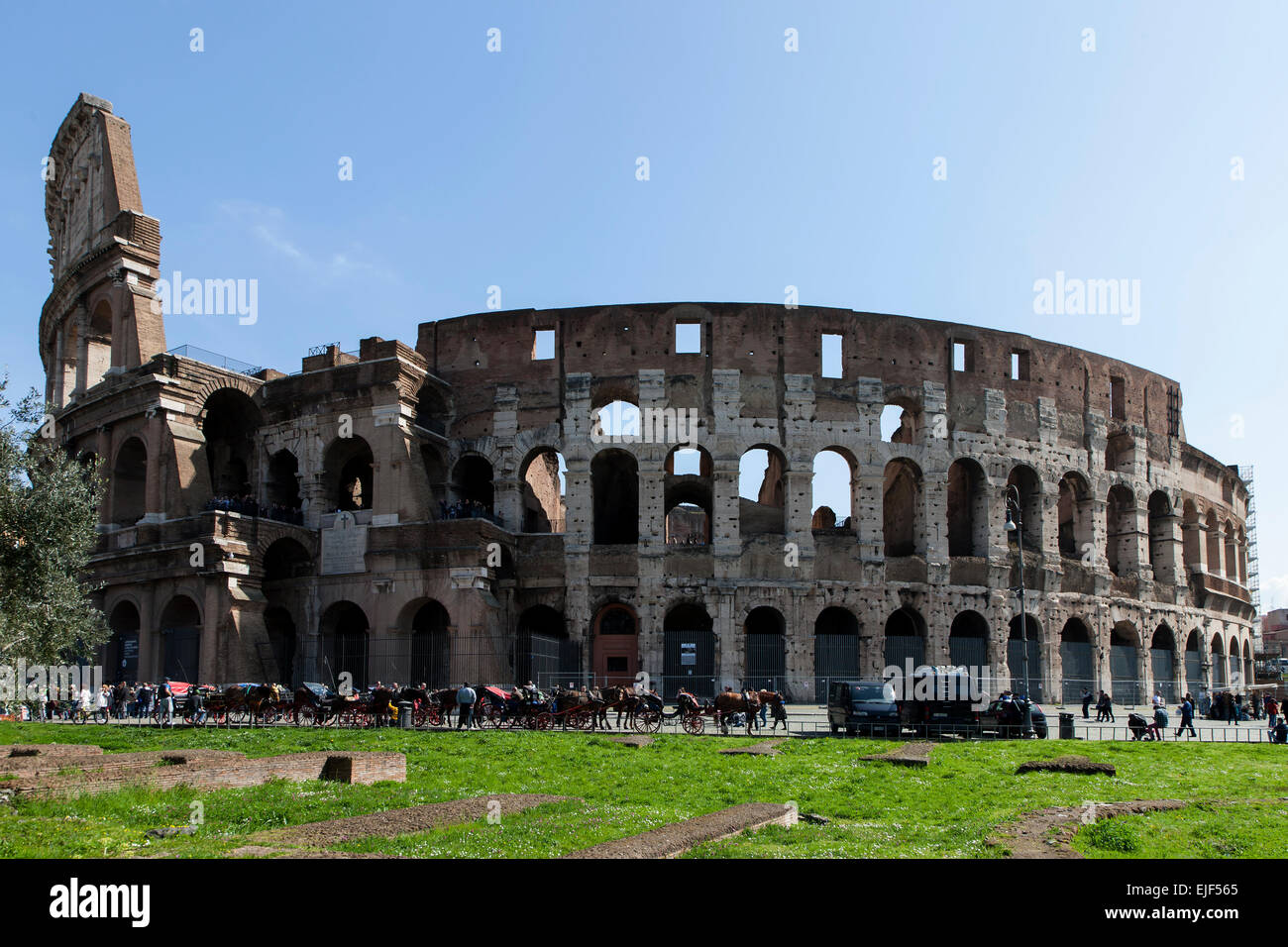 Colosseum in Rom, Italy Stock Photo