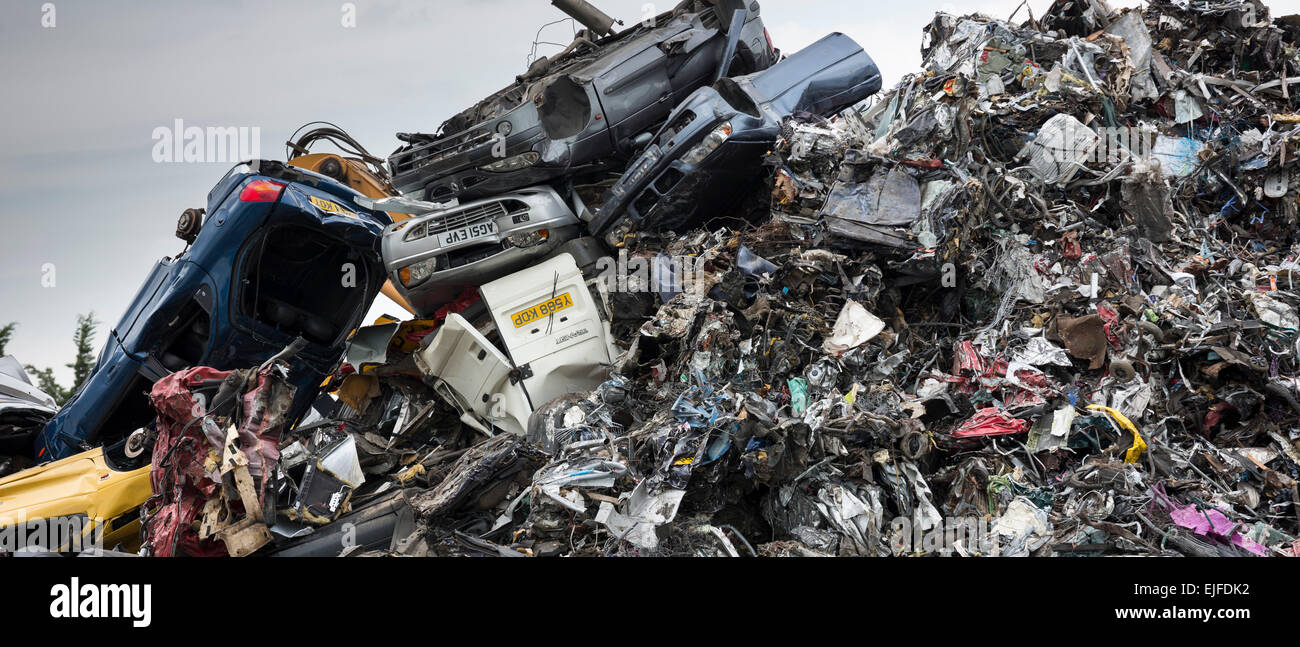 Metal recycling of scrap metal, cars and autos to avoid ...