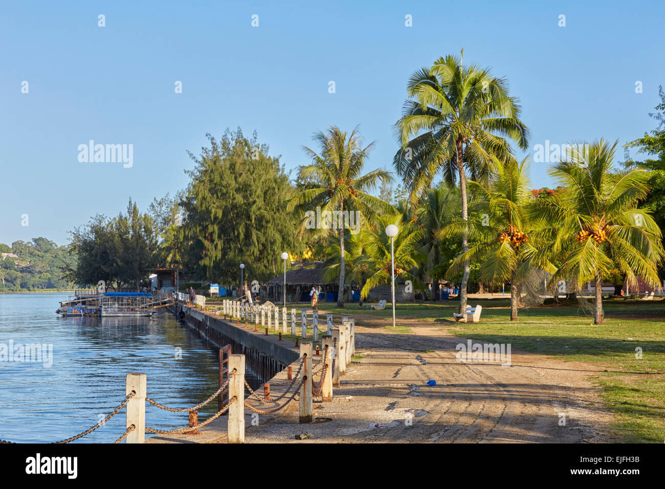 Waterfront Park, Port Vila, Efate Island, Vanuatu - Stock Image