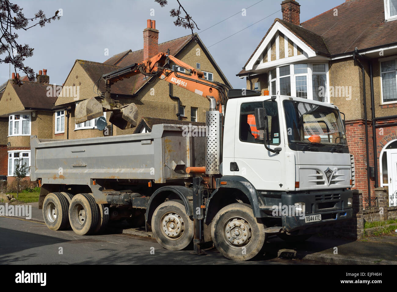 Dumper Truck Lorry Stock Photos & Dumper Truck Lorry Stock