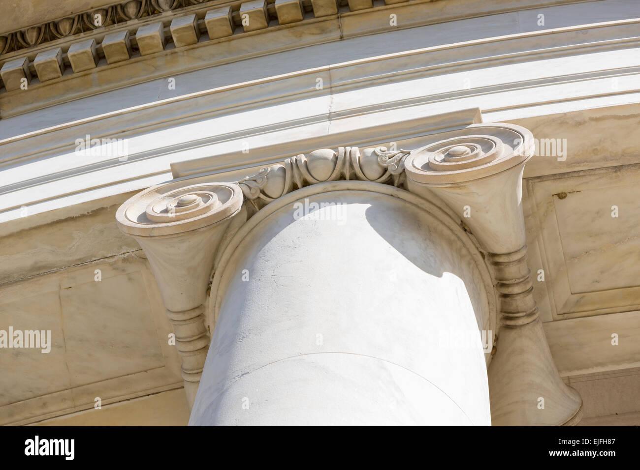 Ionic column stock photos images alamy
