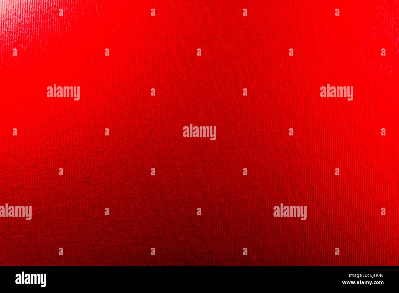 Close up of red leather texture from animal skin - Stock Image