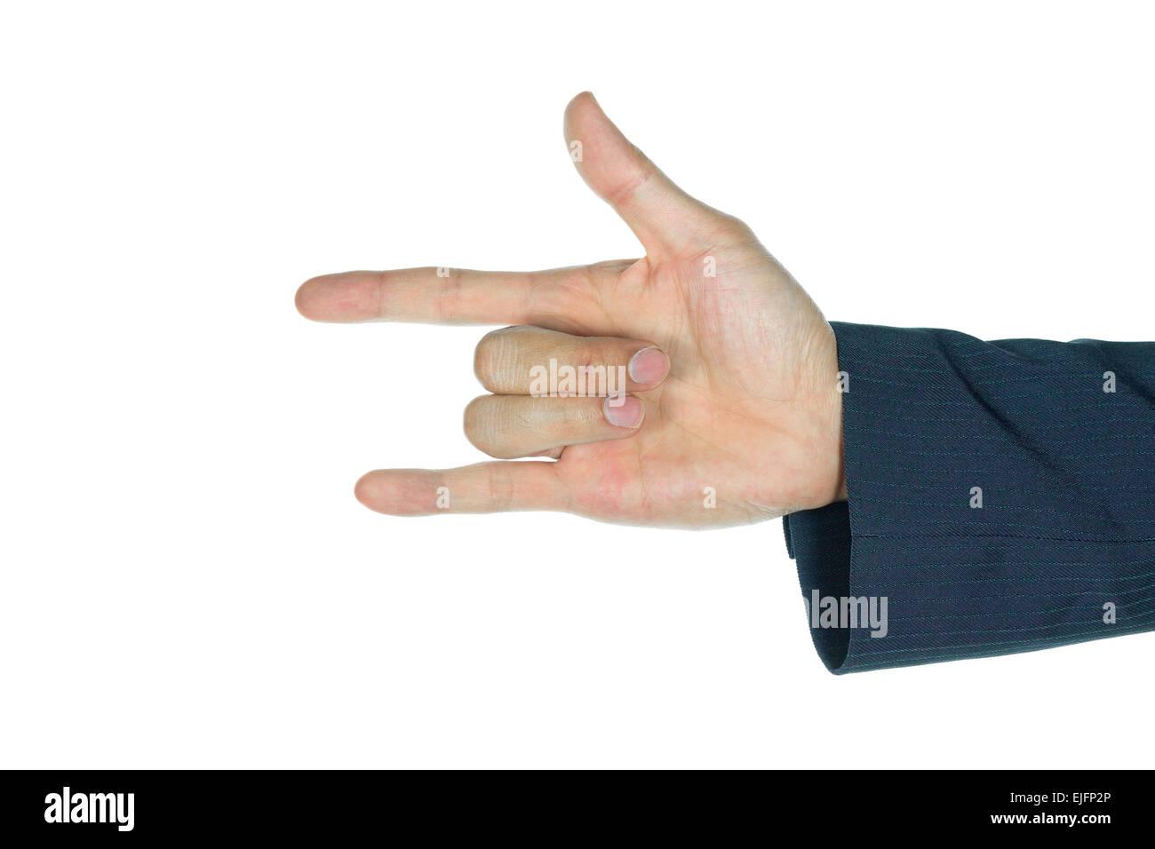 I Love You Finger Symbol Stock Photos I Love You Finger Symbol