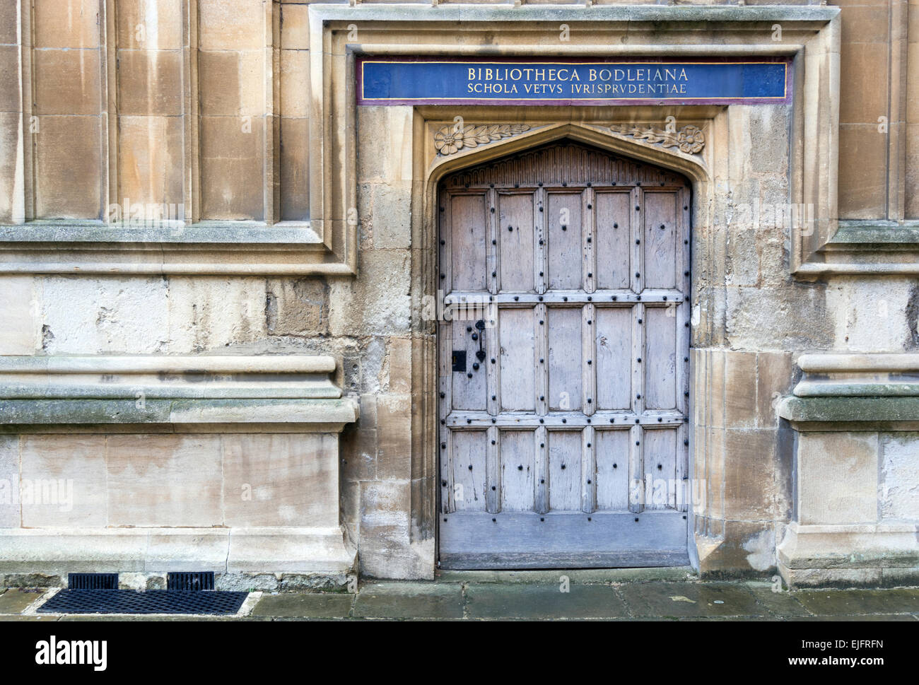 Door in the Bodleian Library quadrangle University of Oxford UK & Door in the Bodleian Library quadrangle University of Oxford UK ...