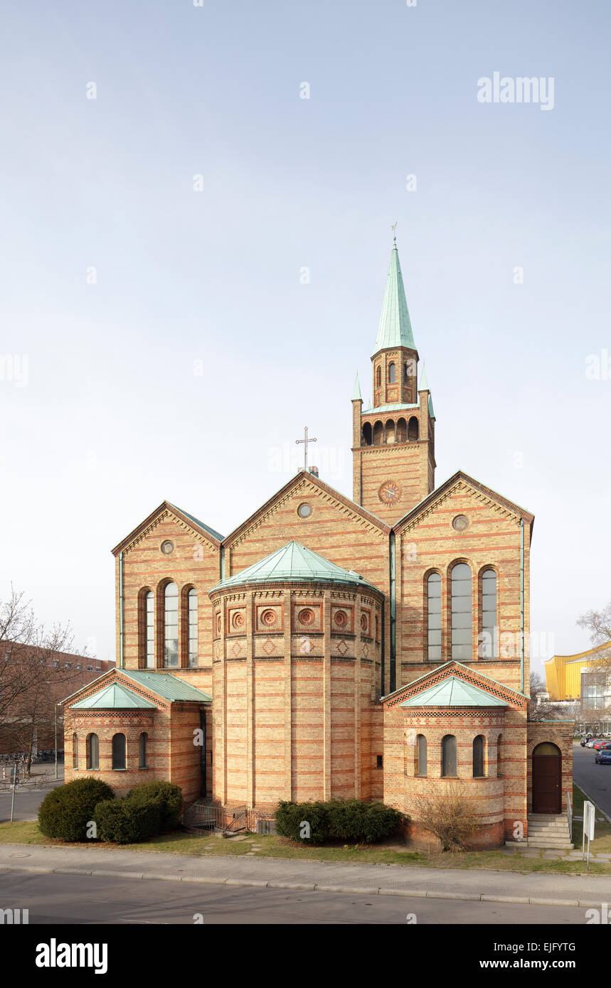 Saint Matthew's Church, Berlin, Germany - Stock Image