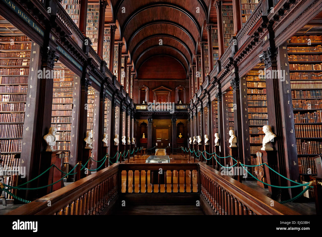 The Long Room Old Library Trinity College Dublin