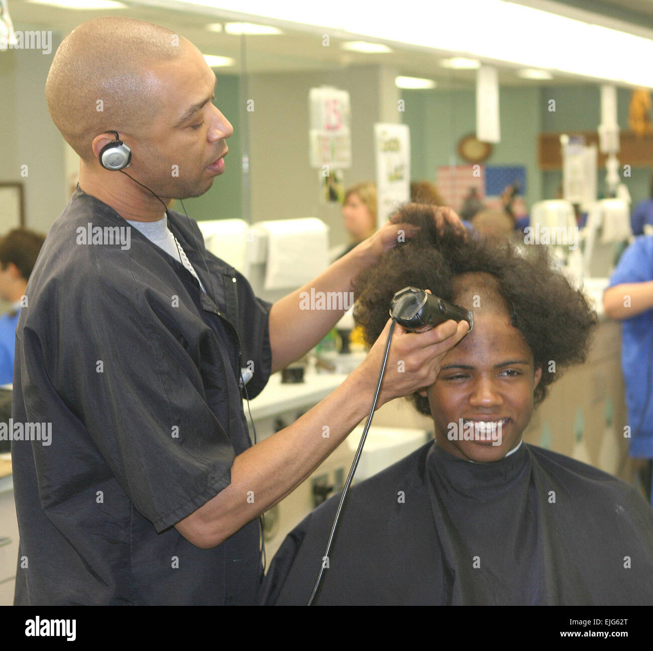 The Military Haircut Stock Photos The Military Haircut Stock