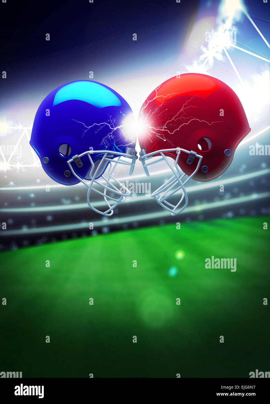 american football sport invitation poster or flyer background with
