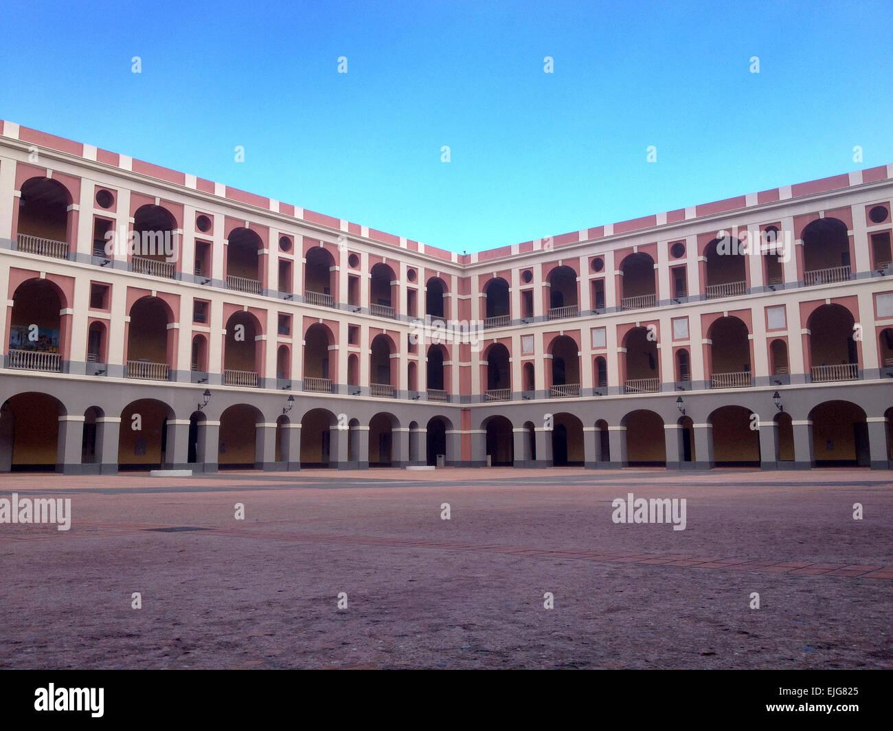 Cuartel de Ballajá in Old San Juan, Puerto Rico - Stock Image