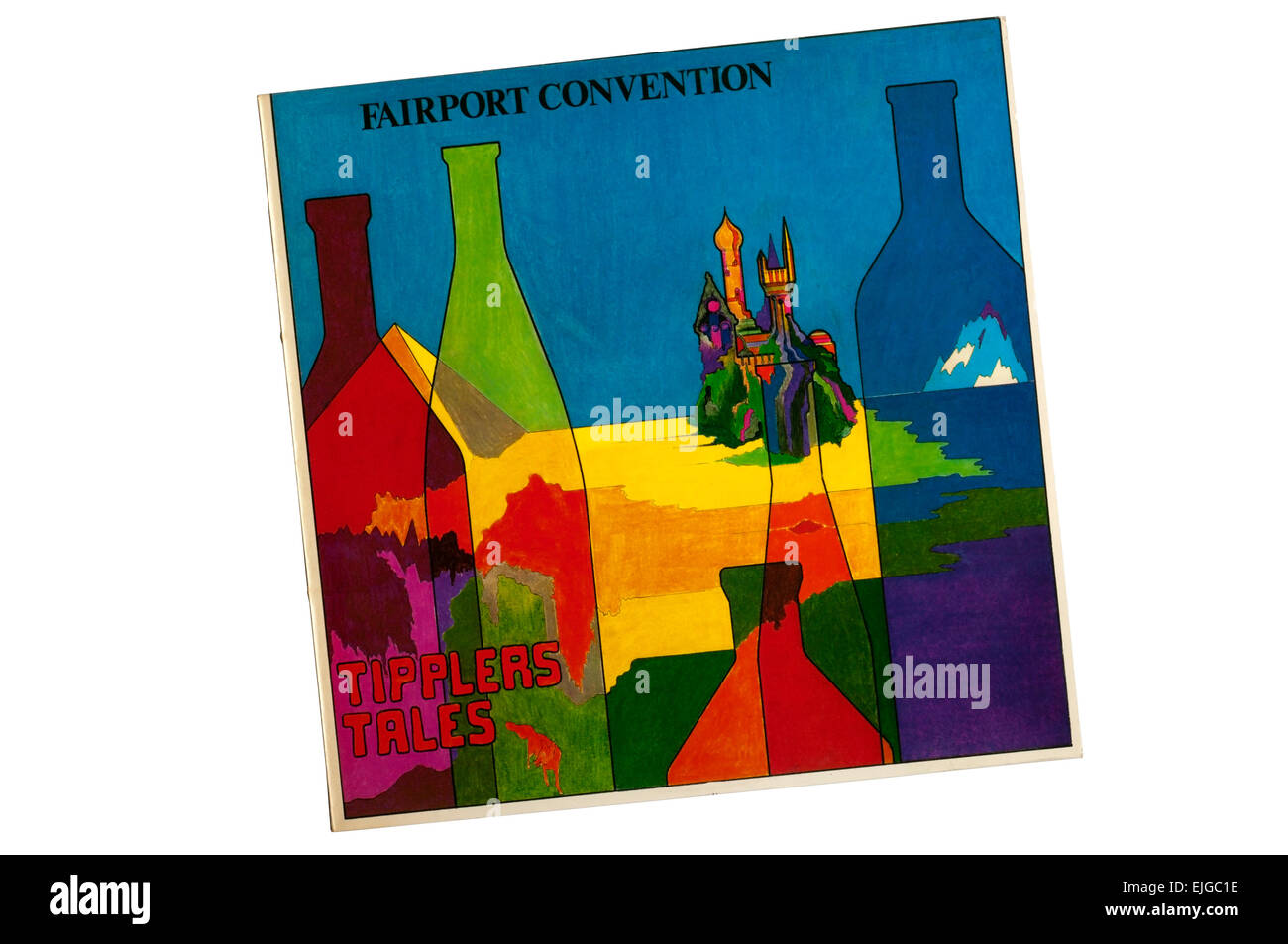 Tipplers Tales was a 1978 album by Fairport Convention recorded in only ten days. - Stock Image