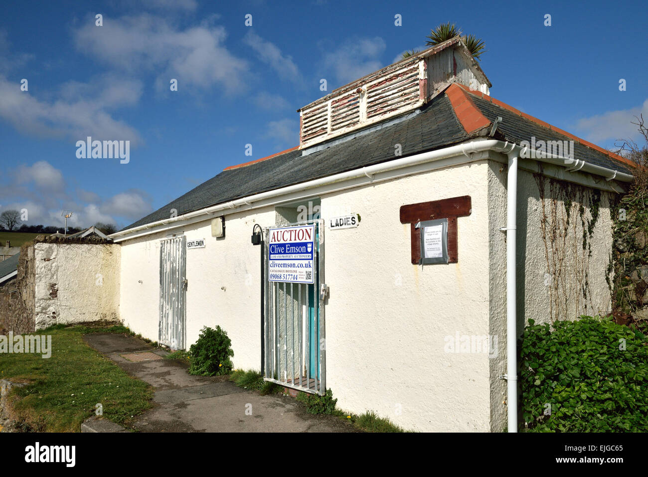 an old public toilets building for sale for development in Stock ...