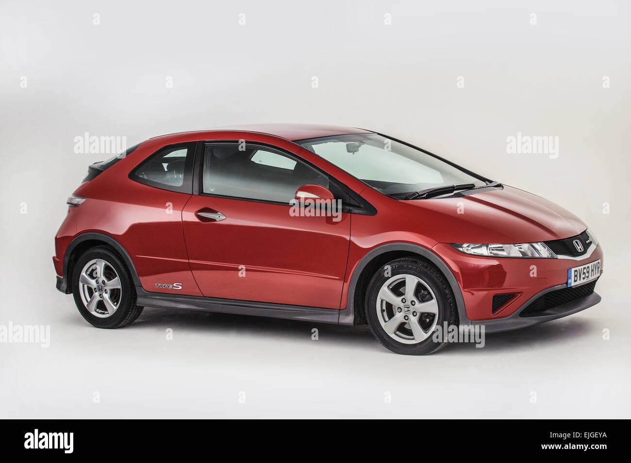 2009 Honda Civic type S - Stock Image
