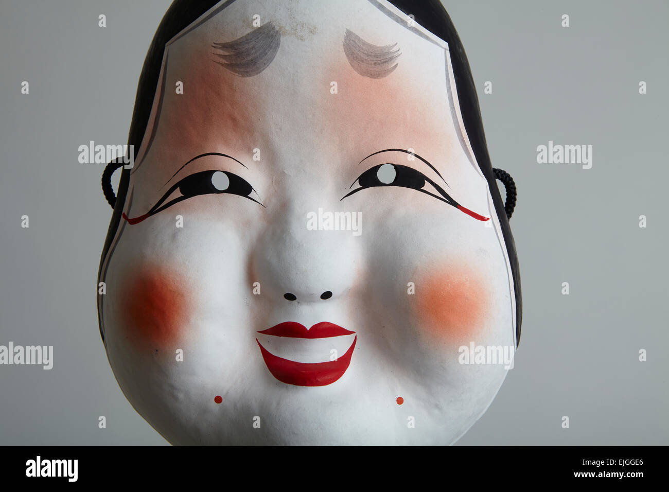 Traditional japanese facial mask
