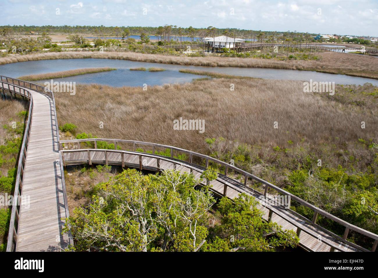 Big Lagoon State Park Pensacola Florida Stock Photo