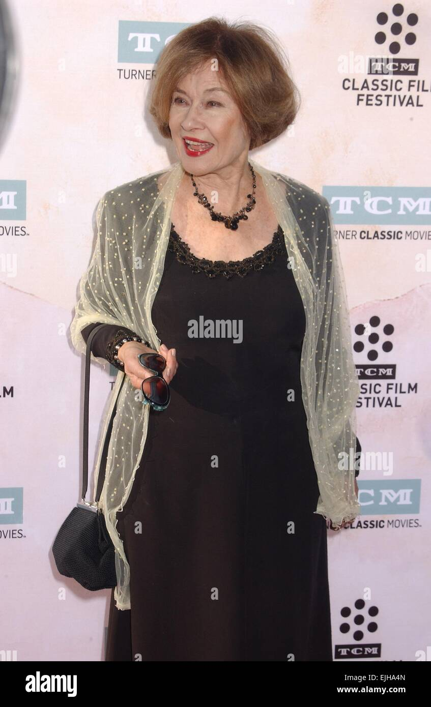 Hollywood, California, USA. 26th Mar, 2015. Diane Baker attends the Screening Of ''The Sound.Of Music'' - Stock Image