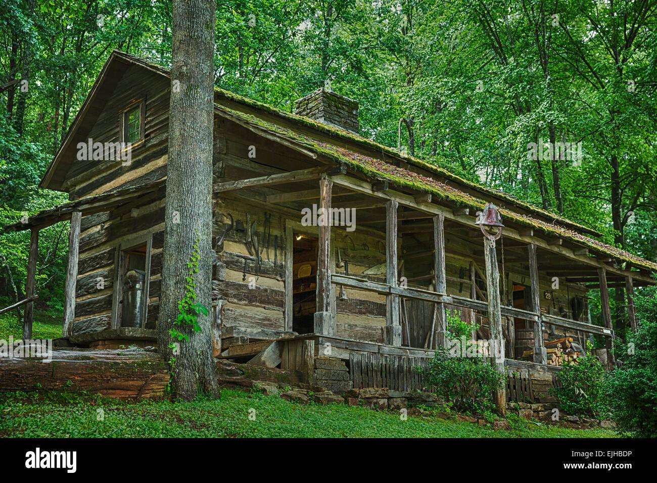 Museum of Appalachia - Stock Image