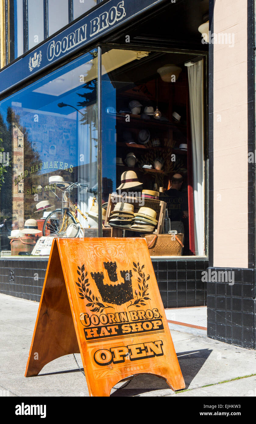 Goorin Brothers Hat Shop Stock Photos   Goorin Brothers Hat Shop ... e66afd112483