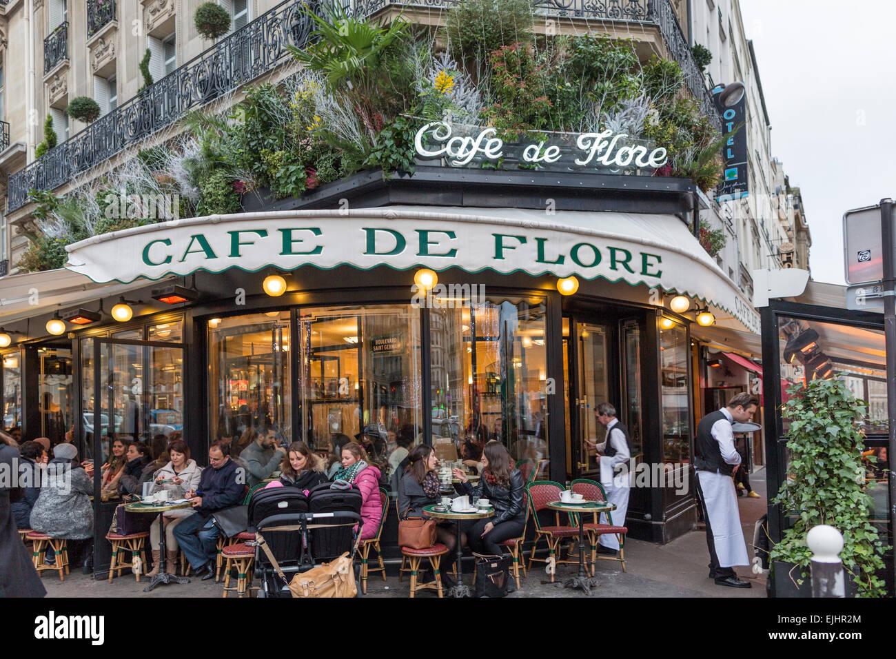 Cafe De Flore Stock Photos Cafe De Flore Stock Images Alamy - Fotos-de-flore