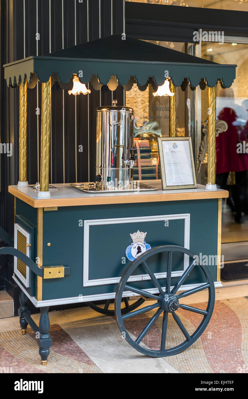 Les Marquis de Laduree, Paris, France, Interior - Stock Image