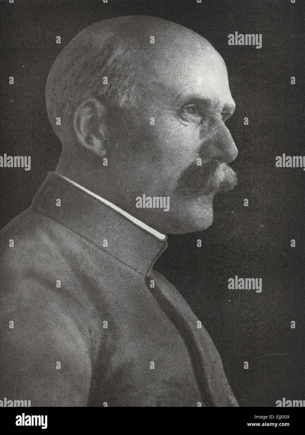 Henri Philippe Petain, Commander in Chief of the armies in France, circa 1917 - Stock Image