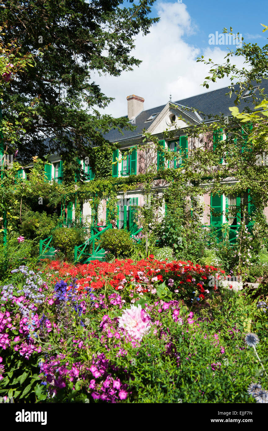 Claude Monet Garten  Giverny Departement Eure Frankreich Europa   Claude Monet garden giverny departement eure france Stock Photo