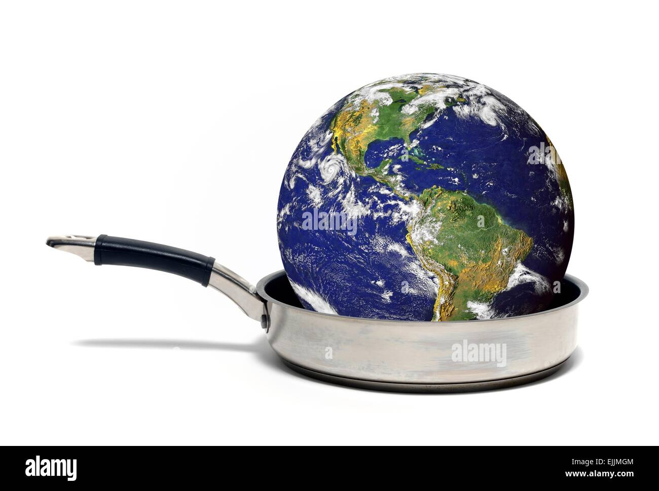 Global warming, conceptual artwork. - Stock Image