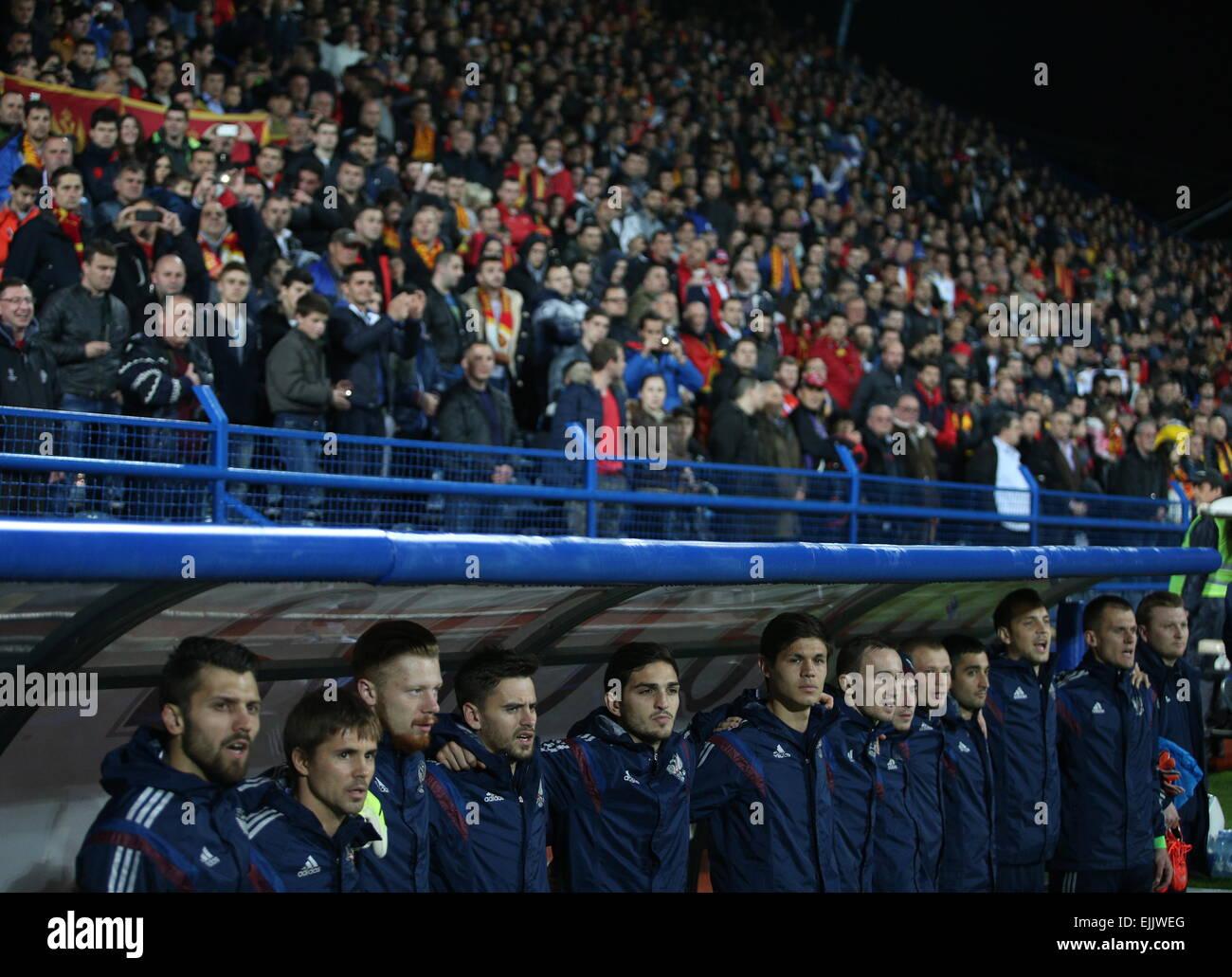 Montenegrin fan, who threw a fire in Akinfeev, apologized 58