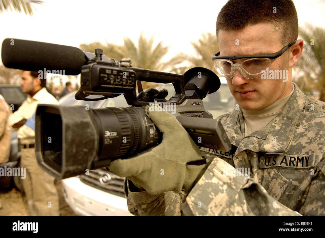 U S  Army Spc  Derek Miller, an infantryman from 2nd Stryker