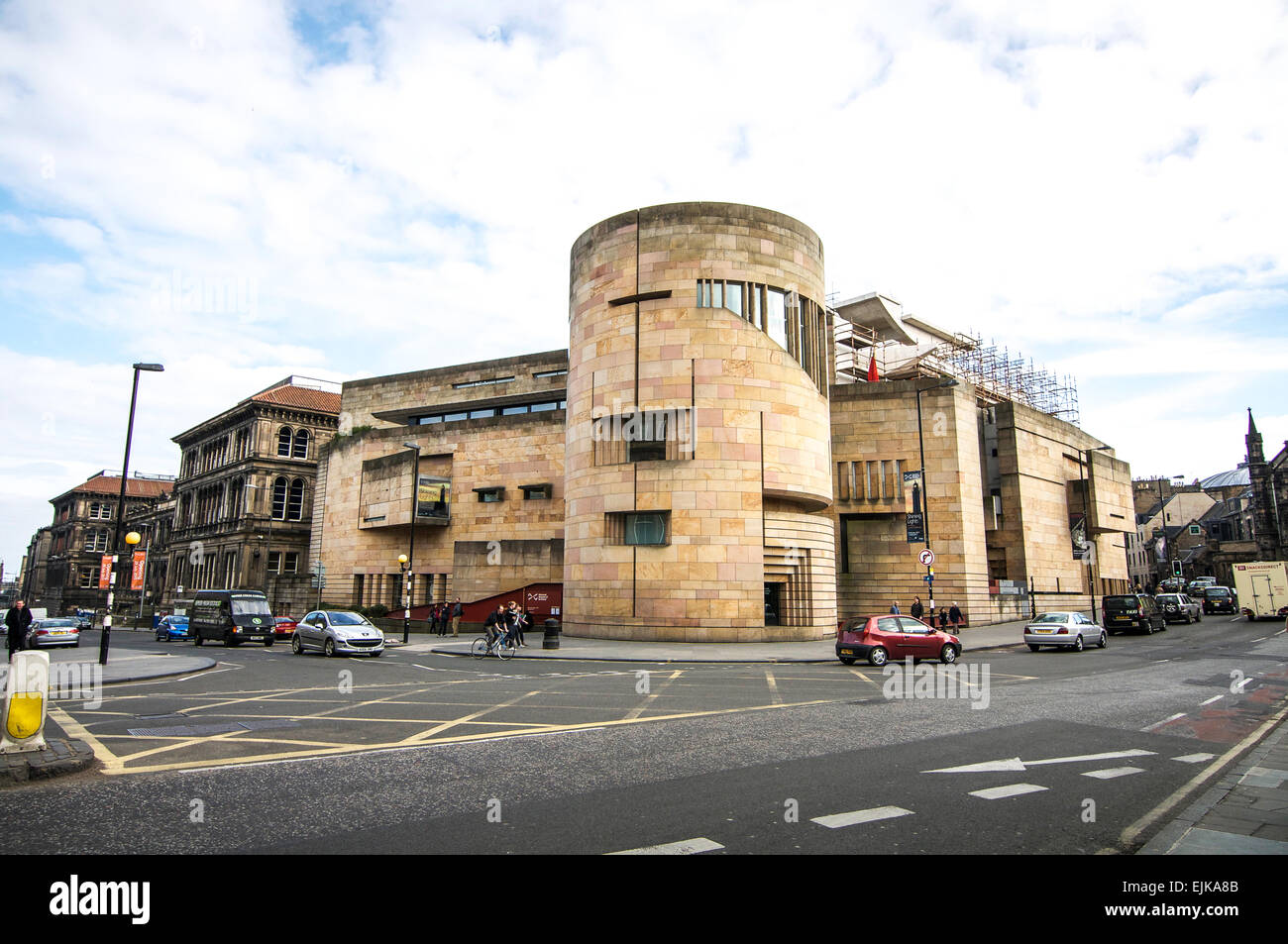 Exterior view of the National Museum of Scotland in Edinburgh. - Stock Image