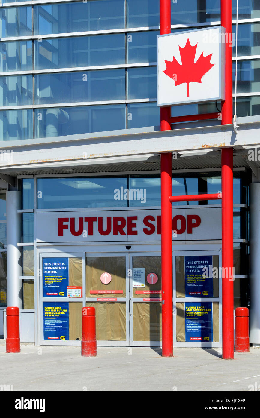 Ottawa, Canada. 28th Mar, 2015. Canadian electronic store chain was established in 1982 and bought by Best Buy in - Stock Image